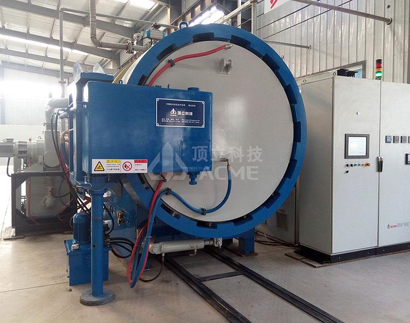 热等静压与高压气淬复合真空炉