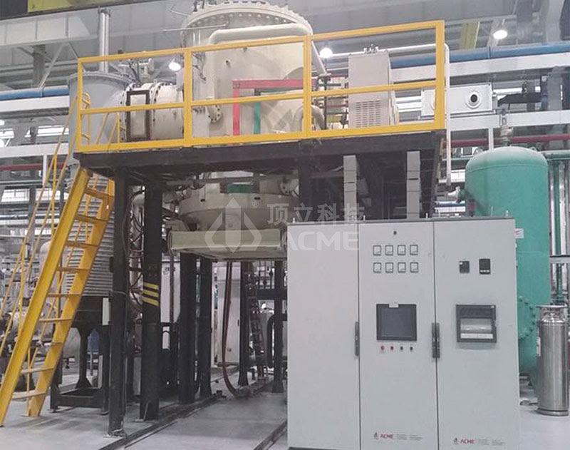 立式底装料高真空钎焊炉