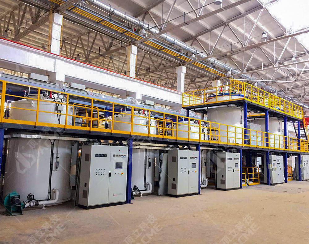 碳碳/碳陶刹车盘制备系列设备