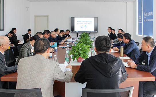 经开区管委会张庆红主任一行莅临顶立科技调研